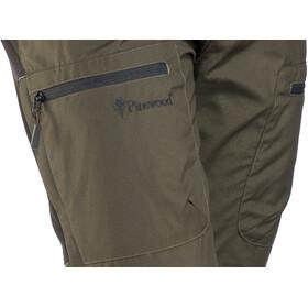 Pinewood Caribou TC Pantalones Hombre, moosgreen/black
